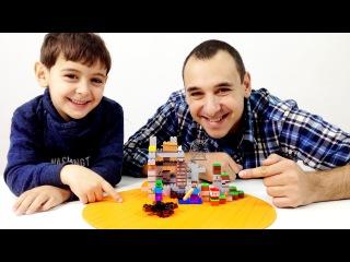 Дети и родители: Папа Роб и Ярик! Видео Майнкрафт. Приключения Стива. Игры для мальчиков.