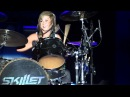 Jen Ledger's drum solo - SKILLET