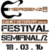 Фестиваль Emergenza 2015/2016 Спб - Semifinal/2