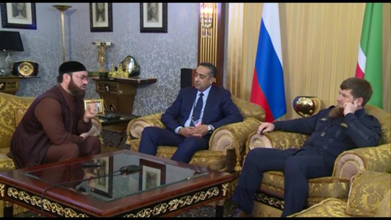 Я встретился в Грозном с Генеральный директором генеральной дирекции по наблюдению за территорией Марокко Абделллатифом Хаммуши