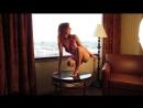 Красивая стройная девушка - НЮ видео !