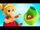 Кукла Пупсик какает в горшок кушает спит Беби Элайв Baby Alive игры для девочек