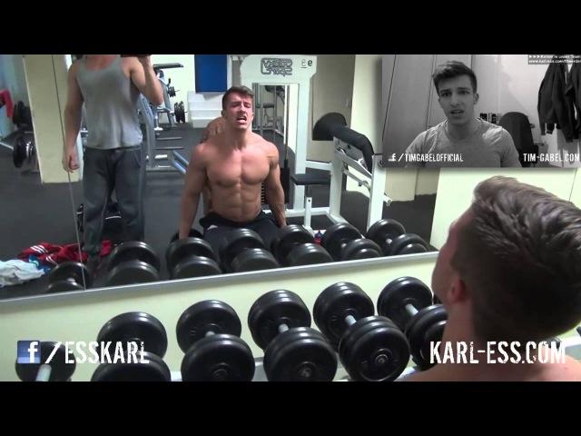 Tim Gabel (19 yrs old Natural Bodybuilder) Gym Motivation