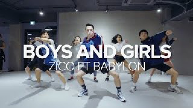 Boys And Girls - Zico Feat. Babylon / Junsun Yoo Choreography