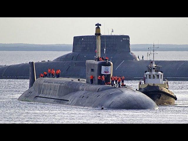 Подлодка Акула. Самая большая подводная лодка в мире, проект 941