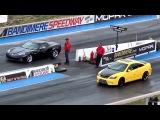 Corvette Z06 vs Cobalt SS (Drag Racing)