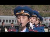 連結鉄道が開通、ロシア・北朝鮮 物流活性化に期待 Railway reopens on Russia-N. Korea border