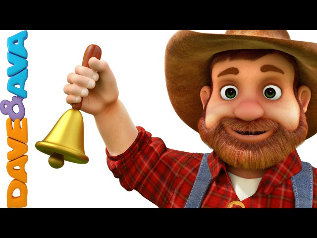 Old MacDonald Had a Farm | Animal Sounds Song | Nursery Rhymes and Baby Songs from Dave and Ava