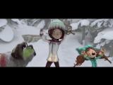 Снежная битва - La guerre des tuques 3D [Чистый звук]