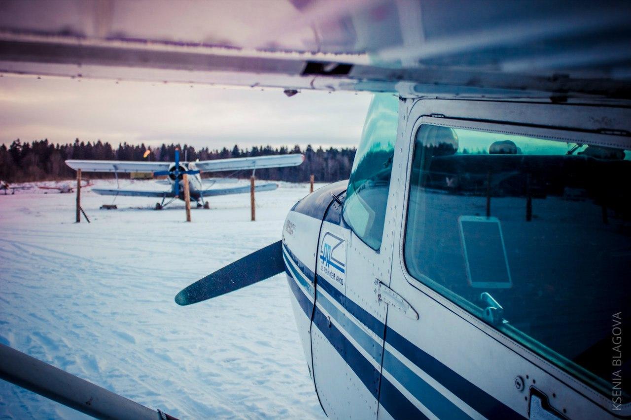 Полеты зимой