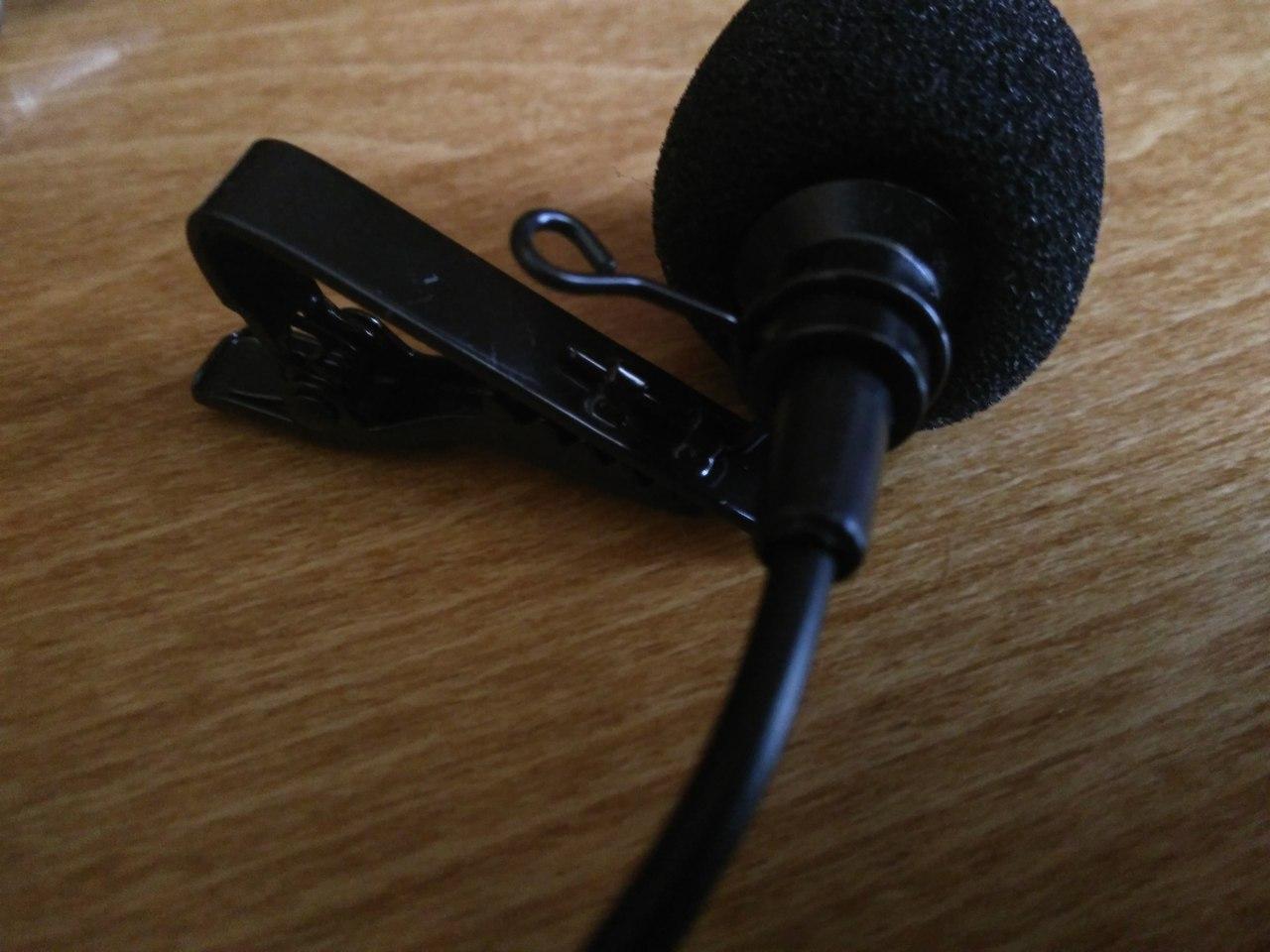 TomTop: Ультрадешевый петличный микрофон