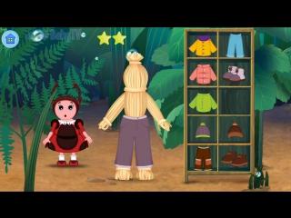 Лунтик Учим Английский язык - Одежда на английском Развивающий Мультик Игра для детей Like BebyTV