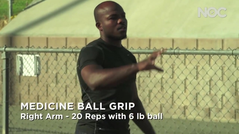 NOC Archives- Tim Bradley Stretching and Medicine Ball Work- Training Days - Part 1 _ С.А.М _ STRONG DIVISION