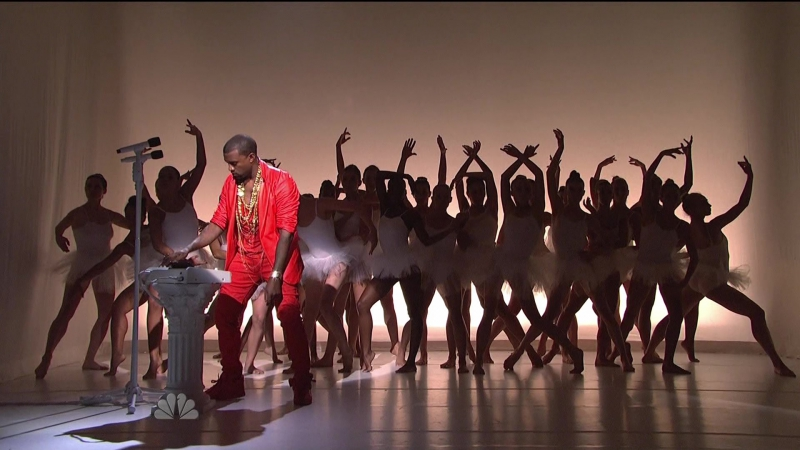 Kanye West Performs Runaway feat. Pusha T