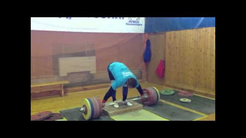 Klokov Dmitry - dead lift 21.06.2013