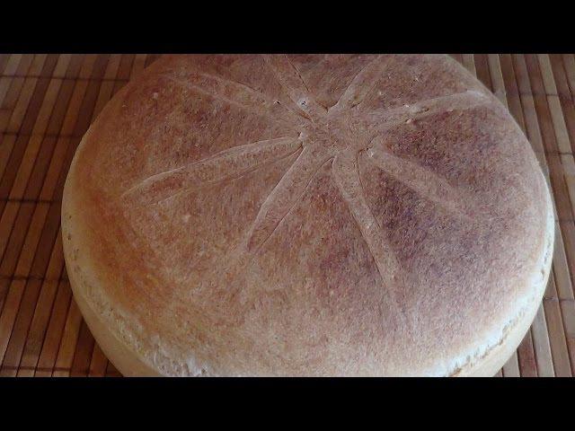 Самый вкусный домашний хлеб (метод автолиза).