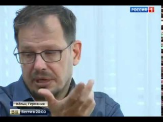 Автор фильма о допинге отобрал микрофон и оскорбил Ольгу Скабееву,редкая скотина этот Зеппельт.