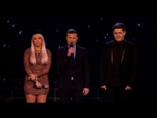 We're headed to deadlock - The X Factor 2011 Live Results Show 7 (Full Version)