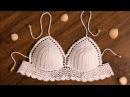 Вязаный топ крючком для начинающих top bodice crochet