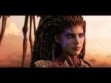СТАРКРАФТ. Анимационный фильм все заставки Starcraft 2 1080p