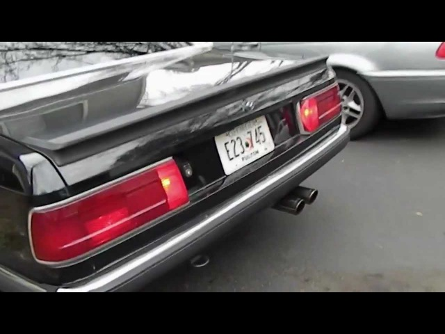 1984 e23 BMW 745i Turbo