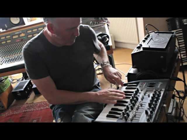 Portishead's Adrian Utley on Arturia MiniBrute Analog Synth