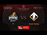 FF vs Escape Gaming,Квалификации TI6, Европа, Игра 3