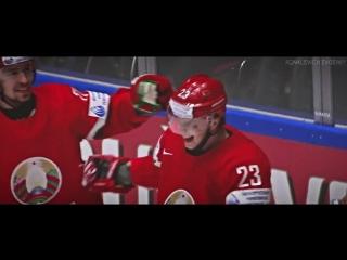 Шайба Стася в ворота Финляндии