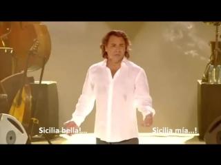 Roberto alagna - sicilia bedda (subtitulado espanol)
