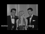 Мэрилин Монро с Дином Мартином и Джерри Льюисом.