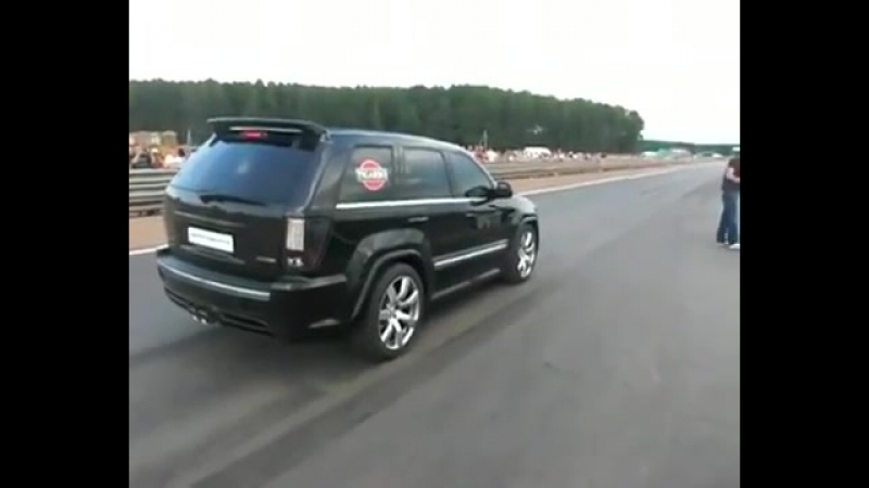 Jeep Grand Cherokee SRT8 Supercharged 7.0L 1000HP