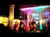 Ришикеш 2016,МахаШиваратри,танец Кали и Шивы,у храма Шивы.зап 2.