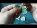 Irish lace Уроки вязания крючком ирландского кружева. Рельефный листочек