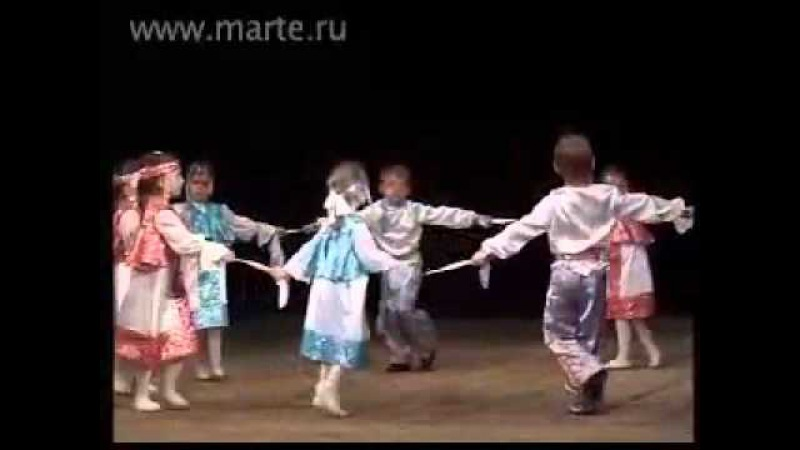 Школа танцев МАРТЭ 2010 - Русский танец танцы дети 5-6 лет