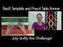 How to Make a Table Runner Quilt with Precut Fabrics Easy Quilting Tutorial with Leah Day