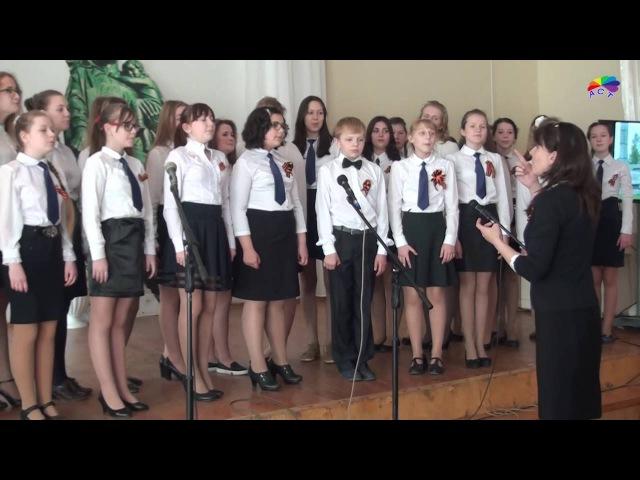 Праздничный концерт посвященный 71 ю Великой Пебеды гимназия №6