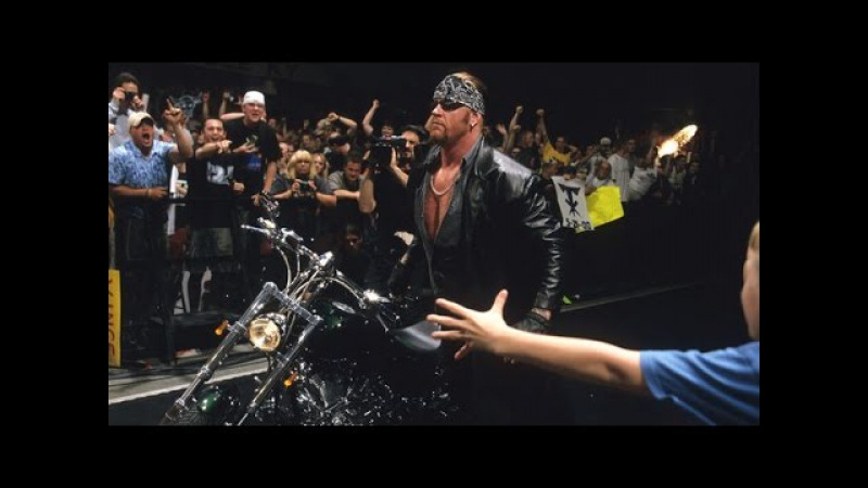 The undertaker returns at judgment day as the american badass and raises hell