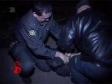 Погоня за пьяным, который побил служителя закона и хотел скрыться