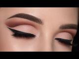 Warm Cut Crease Makeup Tutorial  ABH Modern Renaissance