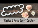 How *I* use the Easiest Rose Ever cutter to make a fondant rose