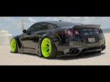 IN LOVING MEMORY OF DOM &amp HIS ARMYTRIX NISSAN GT-R R35 LIBERTY WALK