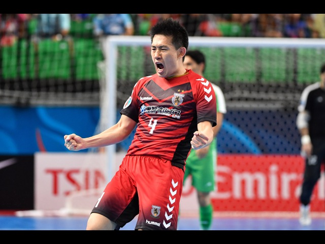 Tasisat Daryaei vs Nagoya Oceans (AFC Futsal Club Championship 2016: Quarter-final)