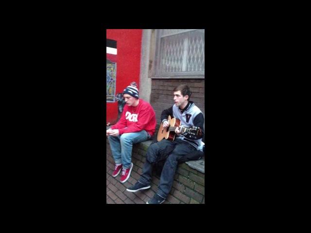Amazing singing duo form Dublin.
