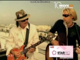 Santana feat. Chad Kroeger - Into the night (Bridge TV)