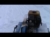 мотоблок нева мб-2с уборка снега