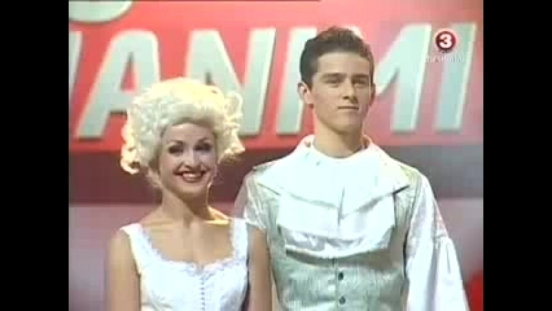 Donatas Montvydas ir Katerina Voropaj - Šok su manimi (6.11.2010)