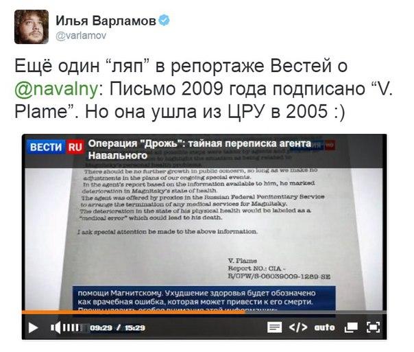 Фильм про Навального Россия-1