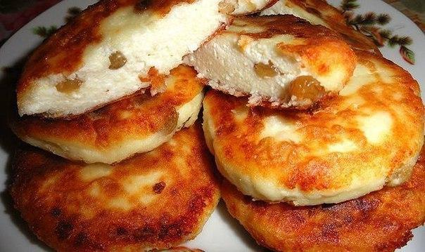 Сырники с изюмом в духовке пошаговый рецепт с фото