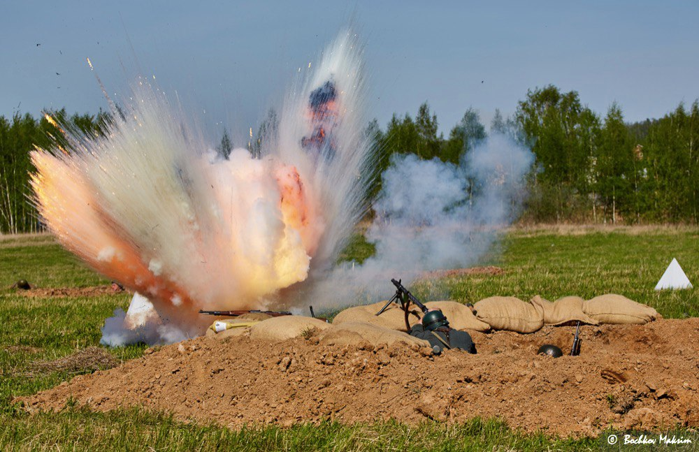 Праздничные мероприятия, посвящённые Дню Победы (9 мая 2016 г.)