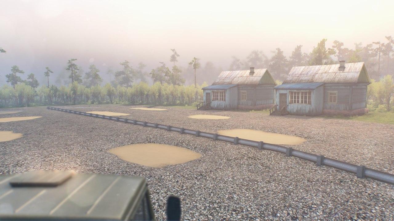 Карта «Дальнобой» для 03.03.16 для Spintires - Скриншот 3